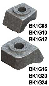 Steel Supply Co. offers Beam Clamp® Components Type BK1.