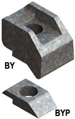Steel Supply Co. offers Beam Clamp® Components Type BY and BYP.