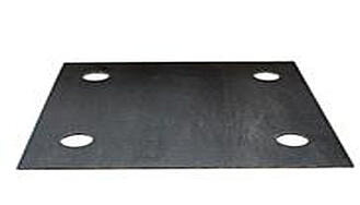 Steel Supply Co. offers Fabreeka Pads made of duck fabric.