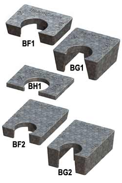 Beam Clamp® Packing Pieces