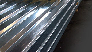 Providing Sheet Metal, such as metal decking, stair pans, risers, carrier angles and pour stops