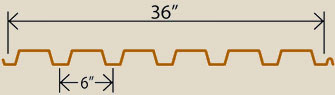 "(TRL) Type B 1-1/2"" Roof Deck Lock"