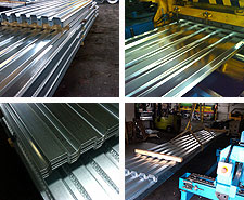 The Steel Supply Co. offers Metal Decking, such as roof deck, roof deck lock & composite floor deck