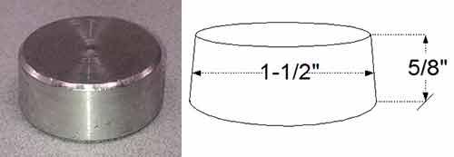 Aluminum Vent Hole Plug