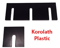 Steel Supply Co. offers Korolath Plastic Shims in various stock sizes or made to order.