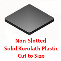 The Steel Supply Co.'s Korolath Shims can be made to order in any dimension and shape.