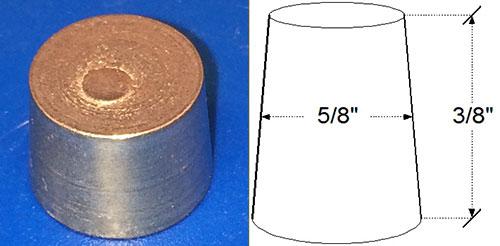 Galvanized Vent Hole Plug