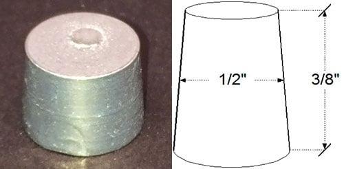 Tapered Aluminum Plug