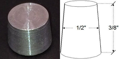Galvanized Weep Hole Plug | Galvanized Rail Plug