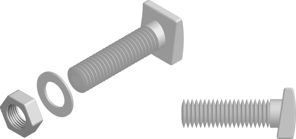 Askew Head Bolt - The Steel Supply Company-1