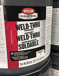 Steel Supply Co. offers Weld Through Primers in Red Oxide and Gray Shop Coat.