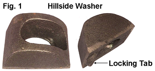 Hillside Washer Flange