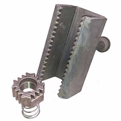 Steel Supply Co. offers Sharktooth Anchors and Sharktooth Inserts for Structural and Miscellaneous steel fabricators.