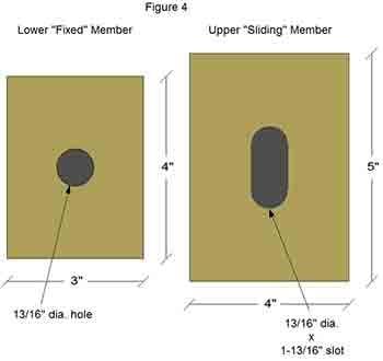 "Figure 4 shows Standard Slide Bearings as a Lower ""Fixed"" Member and Upper ""Sliding"" Member."