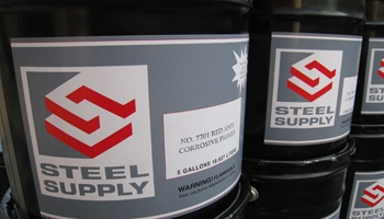 Steel Supply Co. offers Water Based Steel Primers for Structural and Miscellaneous steel fabricators.