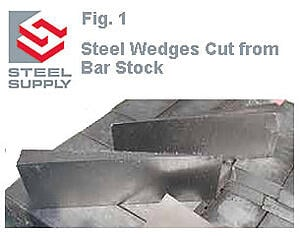 Steel Wedges Made to Order