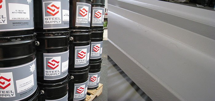 Steel Supply Co. offers Top Coats that provide both a decorative and protective finish.