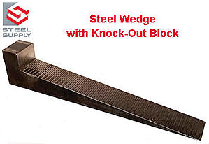 Steel-Wedge-with-Knock-Out-Block