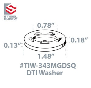 TIW-343MGDSQ Line Drawing