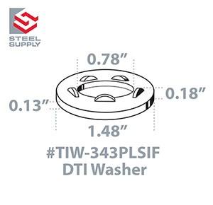 TIW-343PLSIF Line Drawing