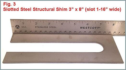 Slotted Steel Shim Production