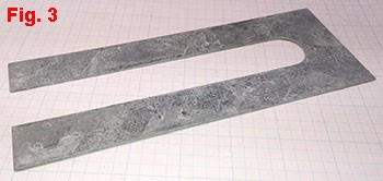 Slotted Steel Shim Galvanizing