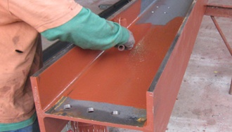 red oxide steel primer is fast drying, durable rust inhibitive coating by krylon industrial